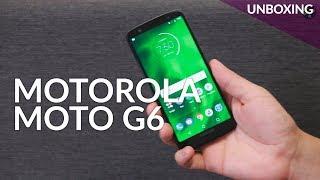 Motorola MOTO G6, UNBOXING en México