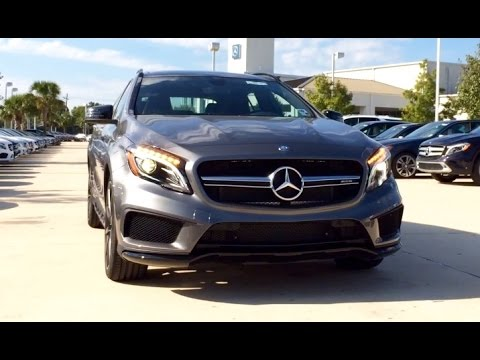 2015 Mercedes Benz GLA Class: GLA 45 AMG Full Review / Exhaust / Start Up
