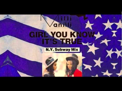 Milli Vanilli - Girl You Know It's True [N.Y. Subway Extended Mix]