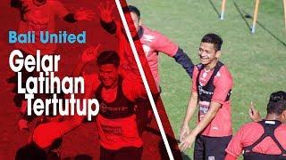 Jelang Pertandingan Leg 1 Babak 8 Besar Piala Indonesia, Bali United Gelar Latihan Tertutup