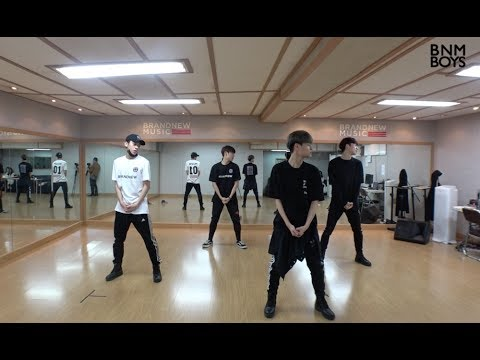 BNM BOYS – 'Hollywood' DANCE PRACTICE VIDEO