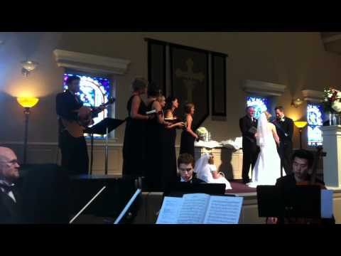 Somewhere Over the Rainbow by Brady Rose at Monica's Wedding