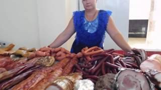 Одесса. Новый рынок. Мясной и молочный ряд. Щедрый продавец  2016