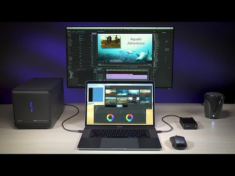 Jump to 4K Editing With the eGFX Breakaway Box 550