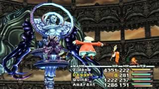 Final Fantasy 9 FINAL BOSSES: Trance Kuja and Necron