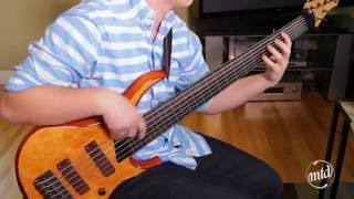 Clayton Harder - Spawn Of Possession - Apparition FRETLESS Bass Cover