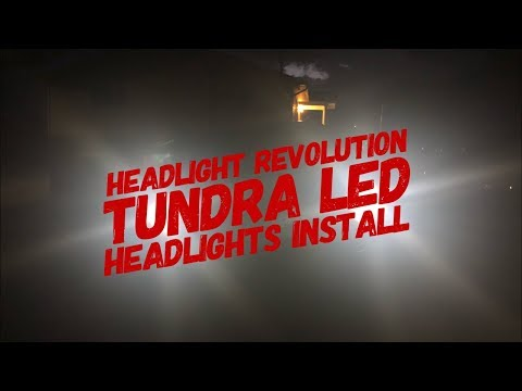 Tundra LED Headlights Install Mp3