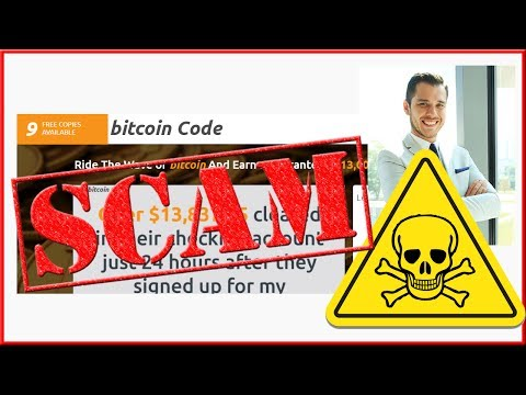 The Bitcoin Code Scam by Steve McKay - Honest Review!