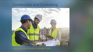 UAE Contracting Companies - Contractors Companies In Dubai