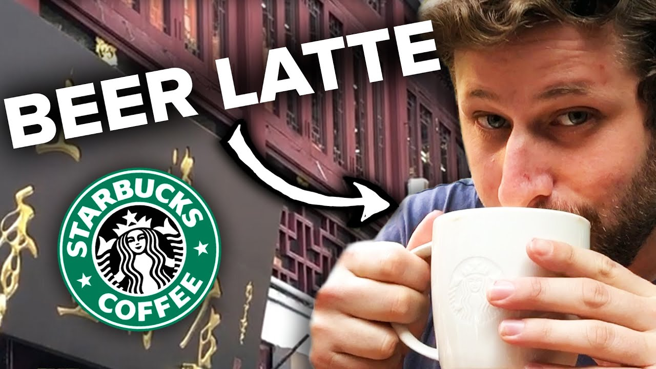 Americans Try Chinese Starbucks thumbnail