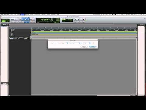Pro Tools Beginner Tutorial - How to record in Pro Tools