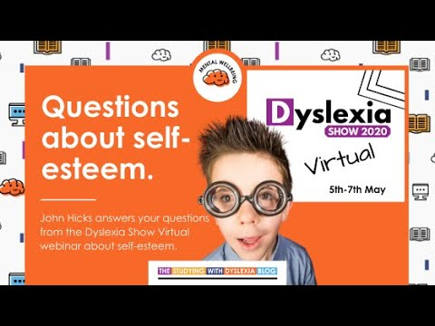 Screenshot of video: Dyslexia- Self Esteem