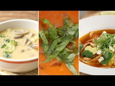 Comforting Soups for Fall