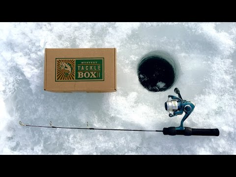 Mystery Tackle Box Ice Fishing Slam Challenge!!! (January 2016)