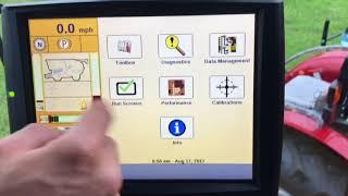 AFS Pro 700: Midrange Yield Monitor Setup