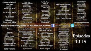 All Skyrim Mods: Week 1 to 9 - Interactive Menu