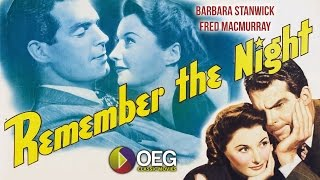 Trailer of Remember the Night (1940)
