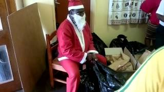 preview picture of video 'Mbabane Rotary/Salvation Army Msunduza Christmas Party 5'