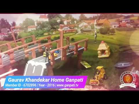 Gaurav Khandekar Home Ganpati Decoration Video