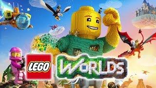 ЛЕГО МИРЫ - LEGO WORLDS #2 ПЕРВОБЫТНЫЕ ОПАСНОСТИ (лего по русски)