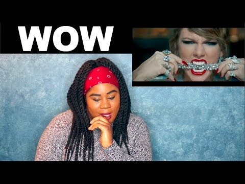 Taylor Swift - Look What You Made Me Do Music Video |REACTION|