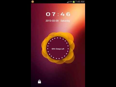 Vídeo do Ubuntu Lockscreen Theme