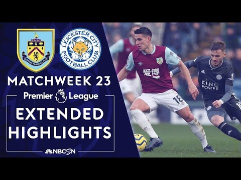 Burnley v. Leicester City   PREMIER LEAGUE HIGHLIGHTS   1/19/2020   NBC Sports