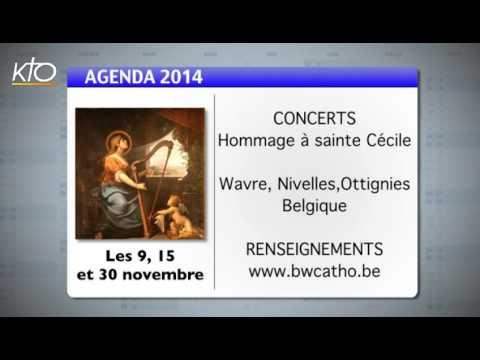 Agenda du 10 novembre 2014