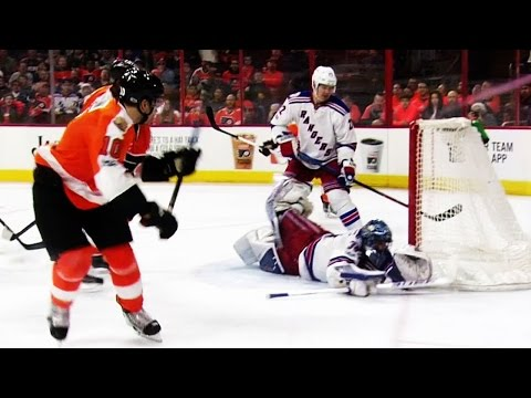 Gotta See It: Lundqvist robs Schenn with excellent back-to-back saves
