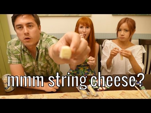 Japan has many flavors of string cheese