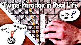 The Twins Paradox Hands-On Explanation | Special Relativity Ch. 8