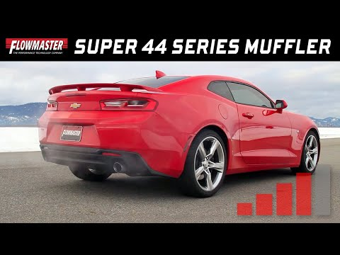 Sportovní výfuk Flowmaster Super 44 Chevrolet Camaro 2016-2021 2.0L, 3.6L, 6.2L