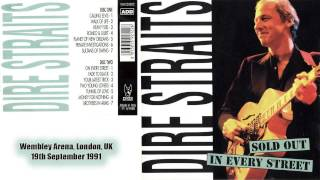 """Dire Straits """"Planet of New Orleans"""" 1991-09-19 London AUDIO ONLY"""