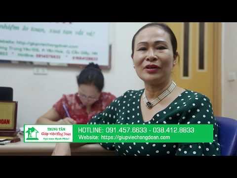 Cô Hiền (Yên Hòa, Cầu Giấy) Đánh giá cao dịch vụ giúp việc Hồng Doan