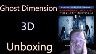 Paranormal Activity: The Ghost Dimension 3D Unboxing (Giveaway Ended)