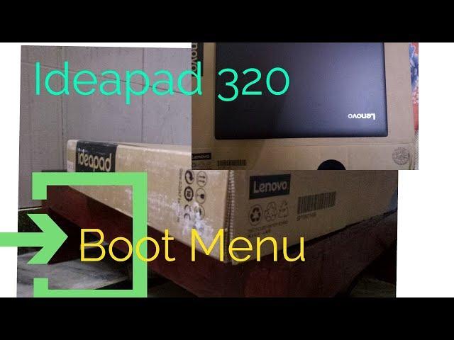 How To Enter Bios Lenovo 320
