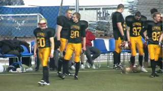 American Football - LITWINS (Mensk) vs HOGS (Saint- Petersburg) 1-4