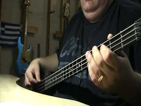 U2 Sweetest Thing Bass Cover