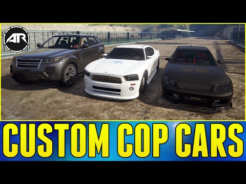 GTA 5 : CUSTOM COP CARS!!! (GTA 5 Challenges Presented By @ElgatoGaming, Season 3, Episode 3)