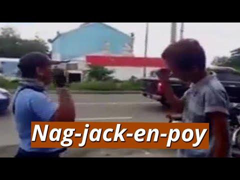[GMA]  UB: Traffic enforcer at nasitang rider, nag-jack-en-poy