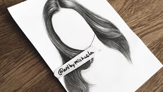 TUTORIAL: How To Draw Realistic Hair