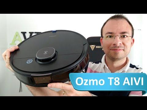 Ecovacs Deebot Ozmo T8 AIVI - Reconnaissance d'objet et Lavage des sols repensé