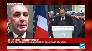 Baretzky on France 24 – One year after the Charlie Hebdo attack lack of cooperation between EU's SS