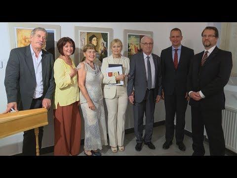 Várnegyed Galéria - Nagymesterek - video preview image