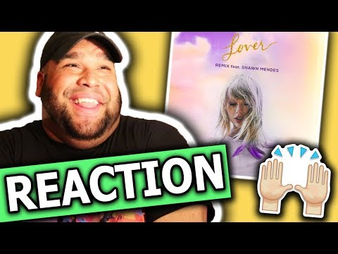 Taylor Swift - Lover REMIX Feat. Shawn Mendes [REACTION]