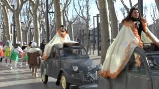 preview picture of video 'Carnaval Narbonne 2015 : cérémonie remise des clés de la ville'