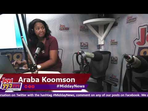 MiddayNews on Joy FM (24-10-18)