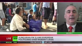 Ricardo Baretzky from ECIPS comments on EU refugee crisis