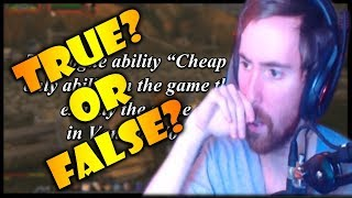 Asmongold Takes The FACT or CRAP VANILLA Wow QUIZ by hirumaredx