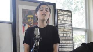 Joshua Colley singing Hallelujah